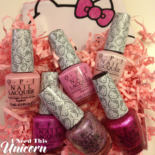 Hello Kitty by OPI | I Need This Unicorn