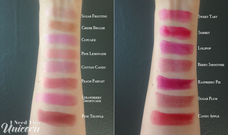 Revlon Lip Butters Swatches | I Need This Unicorn