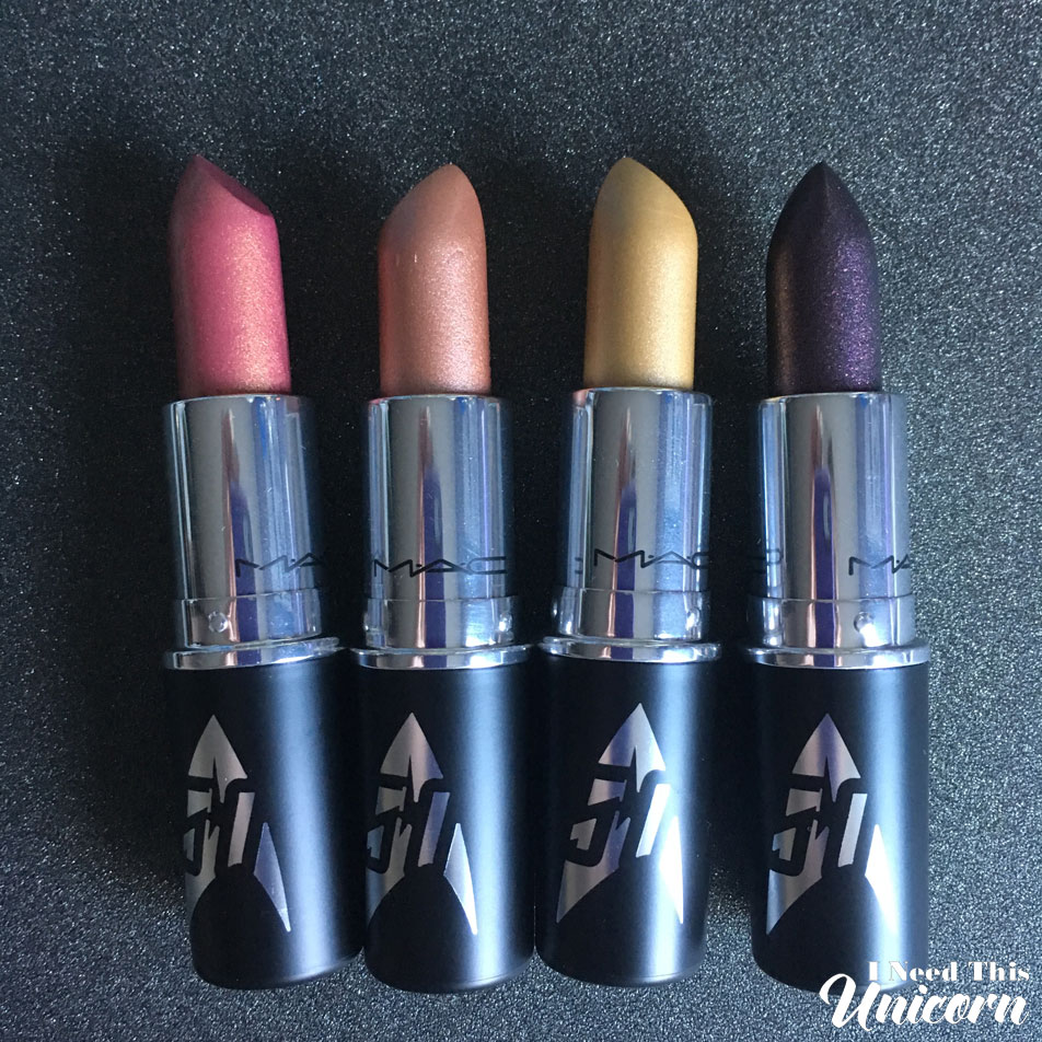 Mac Star Trek Lipsticks | I Need This Unicorn