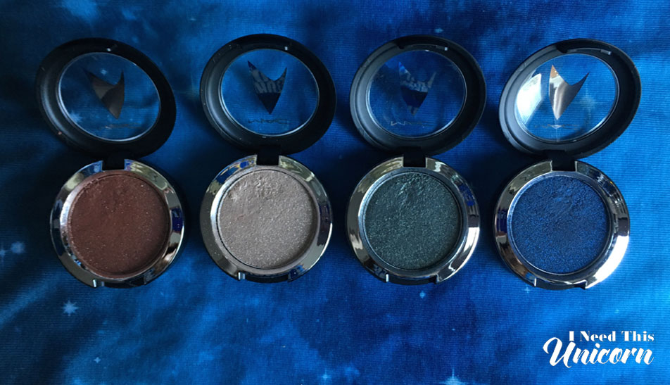 Mac Star Trek Pressed Pigments | I Need This Unicorn