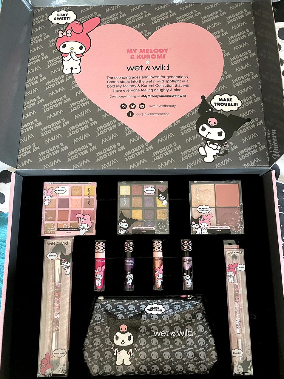 My Melody & Kuromi Wet N Wild Box Collection
